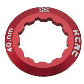 KCNC Shimano Cassette Lockring 10/11/12-speed 12T, red
